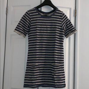 French Connection Nautical Sweatshirt Dress